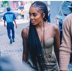 j👑✨, # afro Braids tutorial # cornrows Braids tutorial kweeeen. Braided Hairstyles For Black Women Cornrows, Braids For Short Hair, African Braids Hairstyles, Black Girls Hairstyles, Lazy Hairstyles, Braided Ponytail, Black Hair Braid Hairstyles, Lemonade Braids Hairstyles, Bubble Ponytail