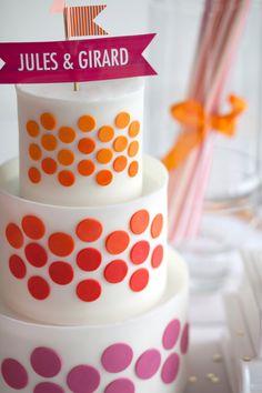 great modern cake
