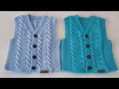 Season ' s trendiest Baby Cardigan Vest tricô modelos Baby Cardigan, Baby Boy Vest, Baby Hats, Knit Vest, Crochet Hood, Crochet Shell Stitch, Crochet Teddy, Baby Knitting Patterns, Newborn Crochet