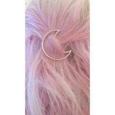 #pinkhair #moon #moonpin