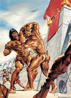 Tarzan by Joe Jusko
