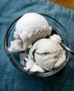 Homemade Coconut Milk Ice Cream | Mama's Weeds   This looks a TON healthier than any other homeade recipe I have found :)  Try adding Maple syrup for the sweetener