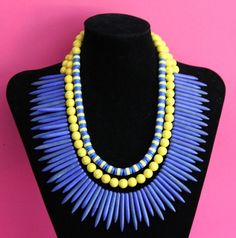 Lafayette Necklace by NobleHouseDesigns on Etsy, $175.00
