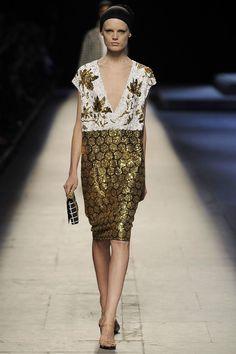 Auth Dries VAN Noten Black Gold Sequin Paette Sleeveless Dress Runway | eBay