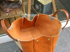 bag sewing patterns tote bag patterns PDF instant download BDQ-08 LZpattern design leather patterns leather craft patterns leather work | An...