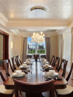 LARGE DROPS Dining Room Shakuff Modern Custom Glass Lighting