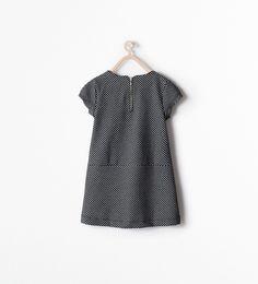 Robe à carreaux avec poches - Robes - Fille - ENFANTS - SOLDES   ZARA France