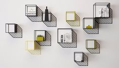 Sunny is a metal furniture collection designed by Dmitry Kozinenko that imitates a sharp shadow at bright sunny day. Home Design, Wall Design, Interior Design, Diy Ombre, Metal Furniture, Furniture Design, Geometric Furniture, Outdoor Furniture, Home Decor Inspiration
