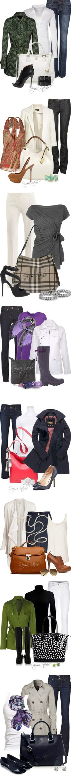 """The Spring Collection"" by orysa ❤ liked on Polyvore"