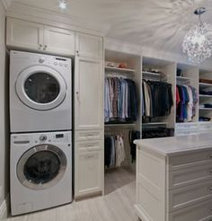 Allegro Interiors Toronto Interior Decorating And Design Victorian Transformation Washer Dryer Closet Laundry