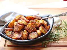This year, I decided to reexamine my potato-roasting method from the ground up with the idea of completely maximizing that crisp-to-creamy contrast in each chunk of potato, testing and retesting every variable, from cut size to potato type to boiling and roasting methods. The result is this recipe, which I firmly and un-humbly believe will deliver the greatest roast potatoes you've ever tasted: incredibly crisp and crunchy on the outside, with centers that are creamy and packed with potato…