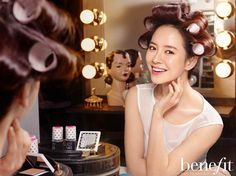 Song Ji-hyo // Benefit Cosmetics ads... I love these Korean Benefit ads <3