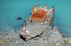 The wreck of the single screw Iron steam ship Mullogh.