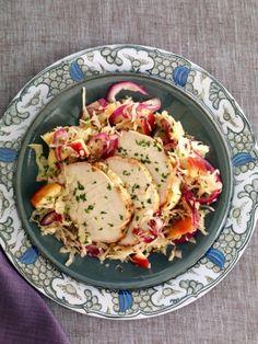 Pork Roast with Sauerkraut and Apples