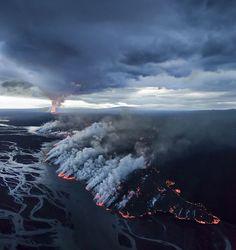 Espantosas fotos como nunca viu, de vulcões em erupção. - Chiado Magazine