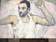 Hope Gangloff painting - YouTube