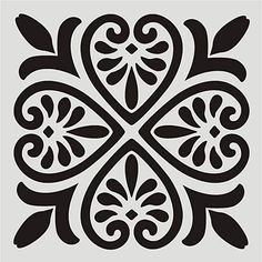 Painting Templates, Stencil Templates, Stencil Painting, Stencil Designs, Fabric Painting, Rock Painting, Printable Stencil Patterns, Stenciled Floor, Floor Stencil
