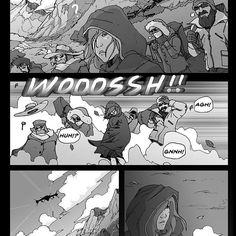 https://flic.kr/p/xmW8tB   Random old comic panels, turned into a storyboard…
