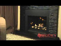 Regency Horizon HZ33E Gas Fireplace - Contemporary & Modern Gas Fireplaces - Regency Fireplace Products