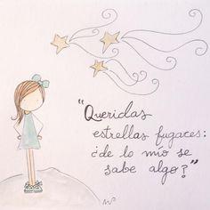 Quién no ha pedido alguna vez un deseo a una estrella fugaz?