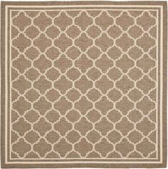 Safavieh Courtyard CY6918 Brown Bone