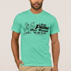 Shop Pete Puma Tea Room 2 T-Shirt created by looneytunes. Personalize it with photos & text or purchase as is! Mma Shirts, Rock T Shirts, Looney Toons, American Apparel, Funny Tshirts, Shirt Style, Colorful Shirts, Fitness Models, Classic T Shirts