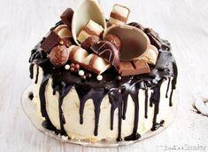 Chocolate Cake Designs, Chocolate Desserts, Food Cakes, Cupcake Cakes, Peanut Cake, Yummy Treats, Yummy Food, Vegan Birthday Cake, Baby Girl Cakes