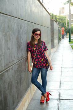 el diario de Pink Chick: Cómo me pongo: zapatos rojos
