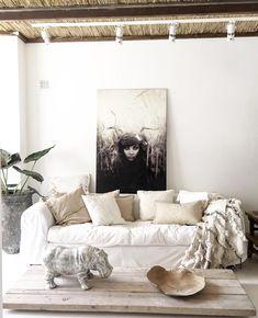 Oversized Mirror, Couch, Interiors, Interior Design, Furniture, Home Decor, Nest Design, Decoration Home, Home Interior Design