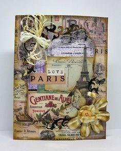 Demo Card using Madame Payraud