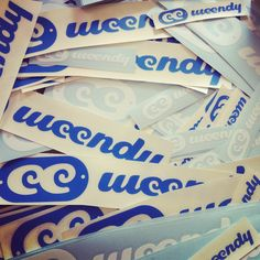 New weendy stickers just arrived :)