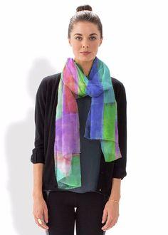 Cashmere Silk Scarf - Shine Jungle by VIDA VIDA tbtKsa