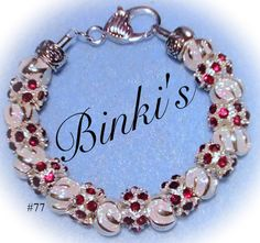 Valentines day jewelry gift January birthstone by Binkisbling, $65.00