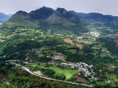 Lourdes panorama