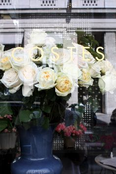 homevialaura   My guide to Paris   Hotel Costes   roses