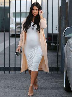 Kim Kardashian Estilo Grávida