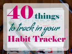 Habit Tracker Cover image