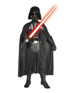 Star Wars Darth Vader Deluxe Kinderkostüm Lizenzware schwarz. Aus der Kategorie Karnevalskostüme Kinder. Mit diesem galaktischen Darth Vader Kostüm begibt sich Ihr Sprössling auf die dunkle Seite der Macht!