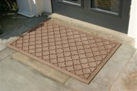 Cecelia Cordova Doormat - Medium Brown, 2' x 3': Material: Polypropylene Made in the USA Eco-friendly with over 20% recycled rubber in the backing Anti-static and flame resistant Cecelia collection Made of premium 24 oz. Brand: Darby Home Co. Free Shipping Estimated shipping time 5 to 7 business days