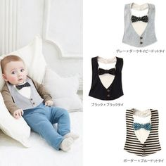 Baby Japan made Atelier Nuu BOYS styling baby baby girl … – Breastfeeding Ideas Baby Outfits, Kids Outfits, Baby Kleidung Set, Baby Sewing Projects, Baby Boy Fashion, Fashion Sewing, Cute Baby Clothes, Baby Sweaters, Baby Crafts