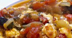 Ενα φαγητό σκέτο γλύκισμα και για πολλές βουτίτσες με φρέσκο ψωμάκι και φέτα !!! Υλικά 5 μελιτζάνες κομμένες σε φέ... Macaroni And Cheese, Food And Drink, Lunch, Ethnic Recipes, Mac And Cheese, Lunches