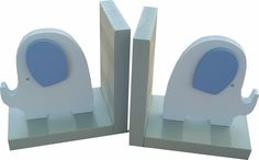 Blue Elephant Bookends | Jack and Jill Boutique