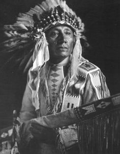 Powder Face (aka Gun Powder Face) - Atsina - 1913