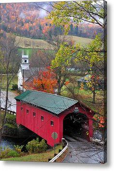 Covered Bridge-Vermont
