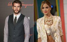 Após separação, Liam Hemsworth é visto beijando atriz mexicana