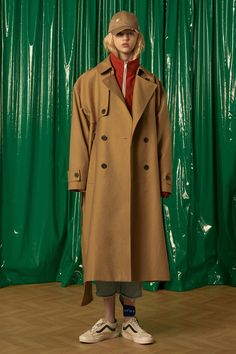 [unisex]  Fusion trench coatCamelpre-order 5.08