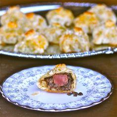 Salt-Crusted Mini Beef Wellingtons