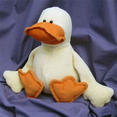 Dilby Duckling Soft Toy Duck Pattern