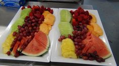 Fresh cut fruit platters ----- #arista #catering #Seattle #salad (888)98-CATER