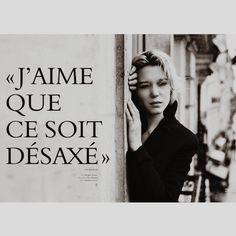 Lèa Seydoux.